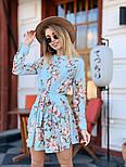 Женское легкое платье с принтами (в расцветках), фото 3