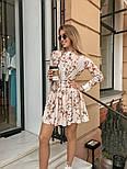 Женское легкое платье с принтами (в расцветках), фото 8