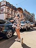 Женское легкое платье с принтами (в расцветках), фото 5