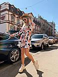 Женское легкое платье с принтами (в расцветках), фото 6