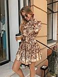 Женское легкое платье с принтами (в расцветках), фото 7