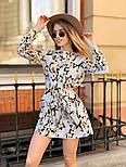 Женское легкое платье с принтами (в расцветках), фото 9