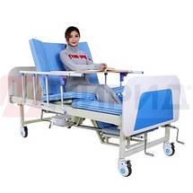 Медицинская кровать с туалетом. Функциональная кровать. Кровать для реабилитации. Для инвалида., фото 2