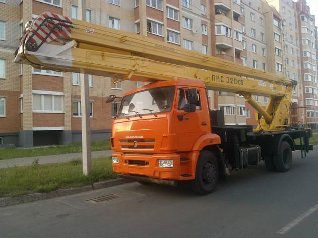 ПОДЪЕМНИК МОНТАЖНЫЙ СТРЕЛОВОЙ ПМС-328-05 (автовышка), фото 2