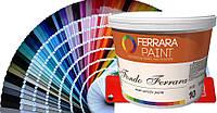 """Матовая краска на акриловой основе. Fondo Ferrara. """"W"""" – белая. 5 л."""