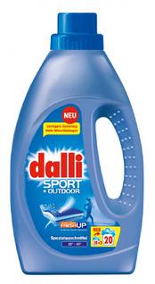 Гель для прання Dalli Sport & Outdoor для прання спортивного і верхнього одягу, 1.1 л (20 прань) 01115