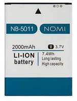 Аккумулятор Nomi NB-5011/i5011 Evo M1 2000 mAh Оригинал