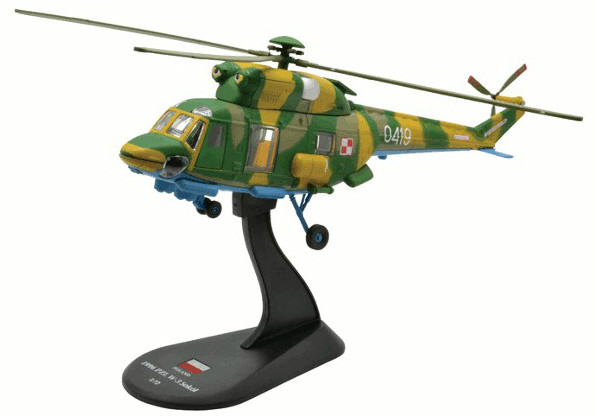 Модель Вертолеты Мира (Amercom) №48. PZL W-3 Sokół в масштабе 1:72