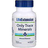 Микроэлементы, Life Extension, 90 капсул