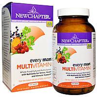 Мультивитамины для мужчин, New Chapter, 120 таблеток