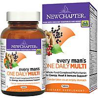 Мультивитамины для мужчин, New Chapter, 48 таблеток