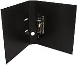 Папка-реєстратор А4 Buromax, 70 мм, чорна BM3001-01, фото 2