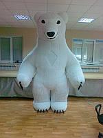 НАДУВНОЙ КОСТЮМ (пневмокостюм, пневморобот) Белый Медведь, фото 1