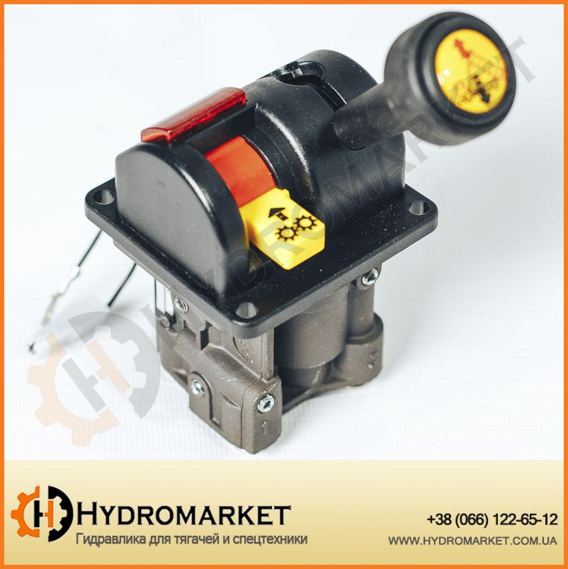 Джойстик подъема кузова трехпозиционный (Пневматический контроллер управления самосвала) Joystick Hipomak