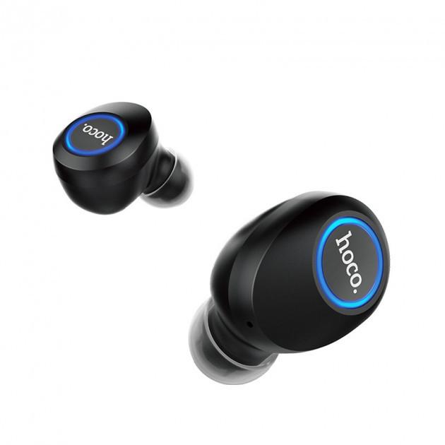 Беспроводные наушники Hoco ES24 Joyous Sound TWS Bluetooth 5.0 гарнитура с зарядным кейсом (черные)