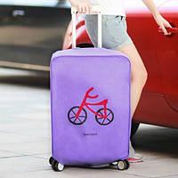 ✅ Чехол на чемодан Violet