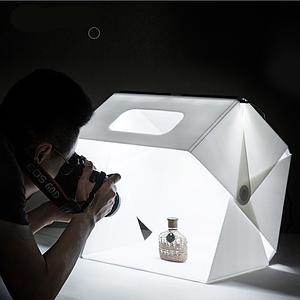 Фотобокс (лайткуб) для предметной фотосъемки  Slowbeat 40*40см