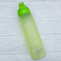 "Бутылка для воды ""H2O"" 700 мл, градиент Салатовый"