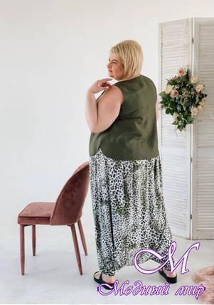 Женские летние брюки большого размера (р. 42-90) арт. Болонья, фото 2