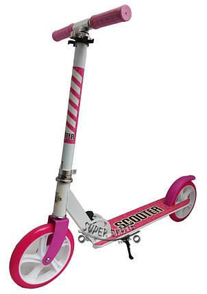 Самокат детский двухколесный Scooter - Pink, фото 2