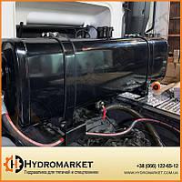 Бак гидравлический (гидробак) закабинный 160 л железный (31х41х145), фото 1