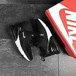 Мужские кроссовки Nike Air Max 270 (черно-белые), фото 5
