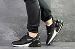 Мужские кроссовки Nike Air Max 270 (черно-белые), фото 3