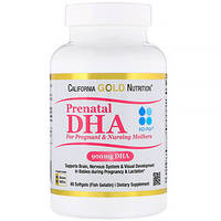 Рыбий жир ДГК (450 мг/ 60 капсул), California Gold Nutrition