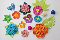 Вязание цветов крючком. Схемы