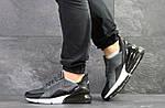 Мужские кроссовки Nike Air Max 270 (серые), фото 6