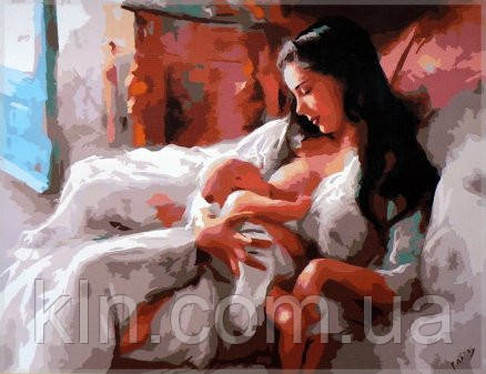 Картина по номерам Babylon КормлениеSW048 40 х 50 см
