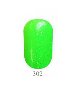 Гель-лак My nail System №302 салатовый с блеском , эмаль 9 мл