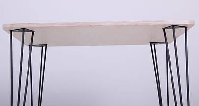Стол Frame 80х80 черный графит/фанера TM AMF, фото 3