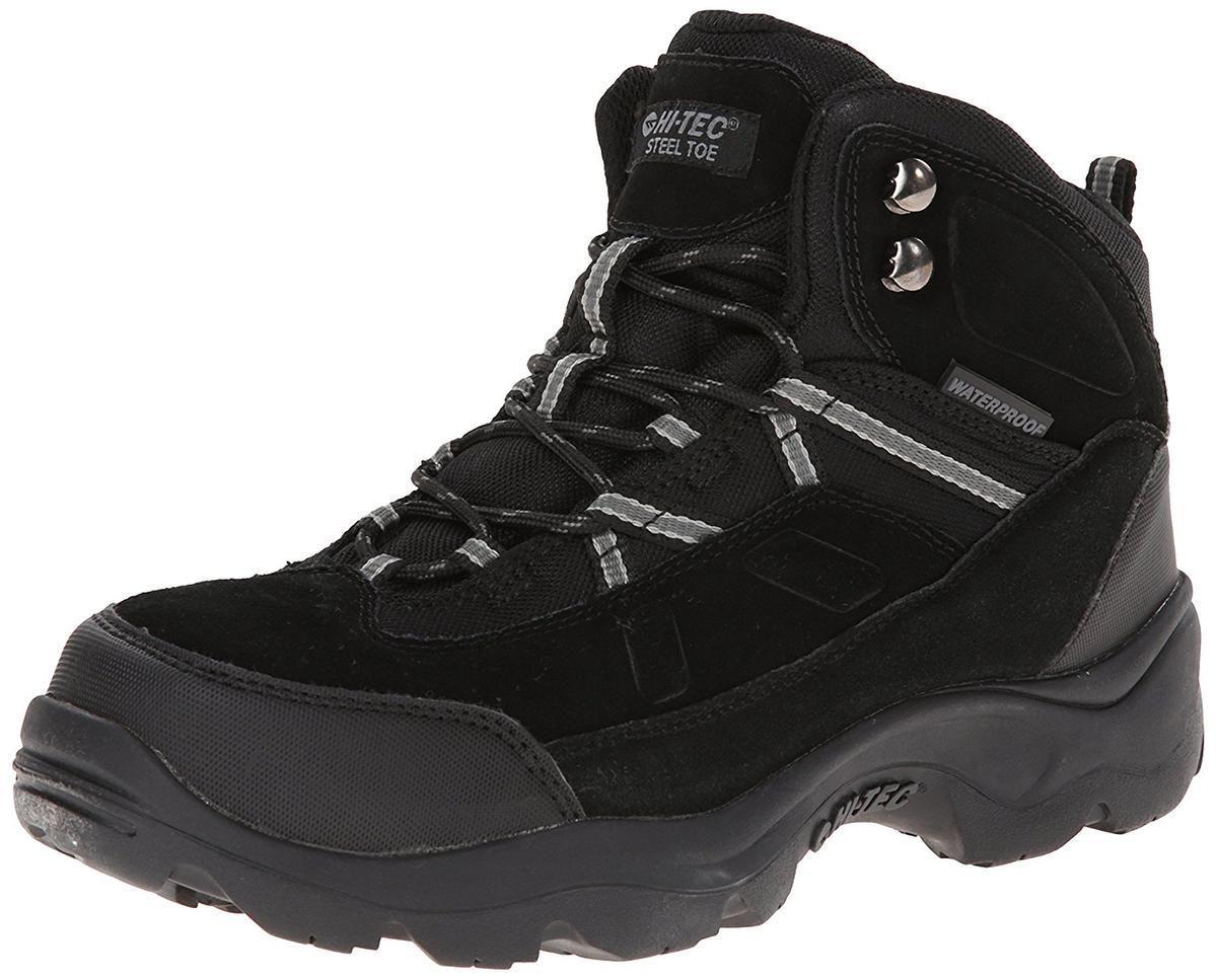 Ботинки Hi-Tec Bandera Pro Mid Waterproof Steel Toe Black