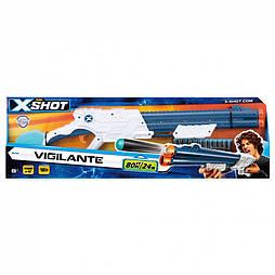 X-Shot Скорострільний бластер EXCEL Vigilante (6 банок, 10 патронів), арт. 3623