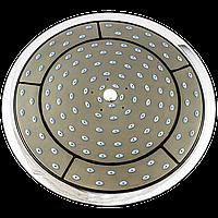 Лейка круглая, потолочная для душевого бокса диаметром  245 мм. ( L-245 ) с штоком, пластиковая.