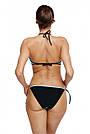 Женский раздельный купальник бикини, голубой, пуш ап, Марко, фото 2