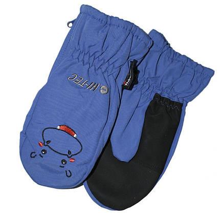 Перчатки Hi-Tec Kids Nodi Blue, фото 2
