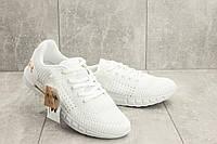 Мужские кроссовки текстильные весна/осень белые Ditof A 1076 -6, фото 1