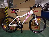 """Велосипед горный алюминиевый Crosser Sweet 26дюймов рама 16"""", Белый., фото 1"""