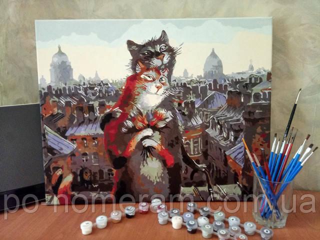 "Отзыв о картине Mariposa ""Коты-романтики"" MR-Q2075"