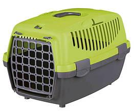 Переноска для собак и кошек Trixie Capri 1 31х32х48 см зеленая (39814)