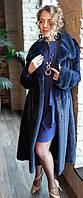 Шуба норковая (Батал). Модель Индиго 200201947, фото 1