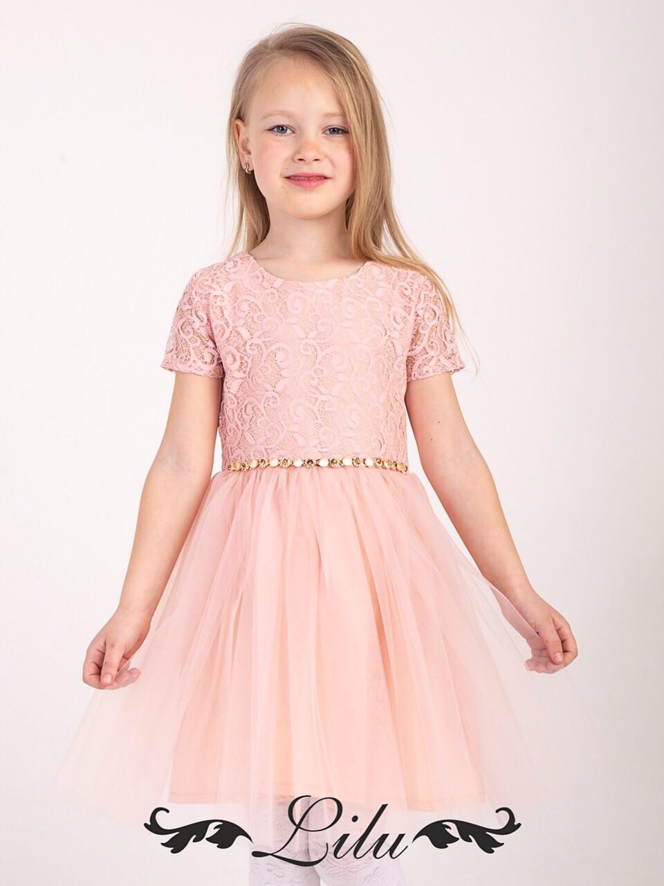 a6bbce71df6 Детское платье для девочки 5-8 лет нарядное - Интернет-магазин