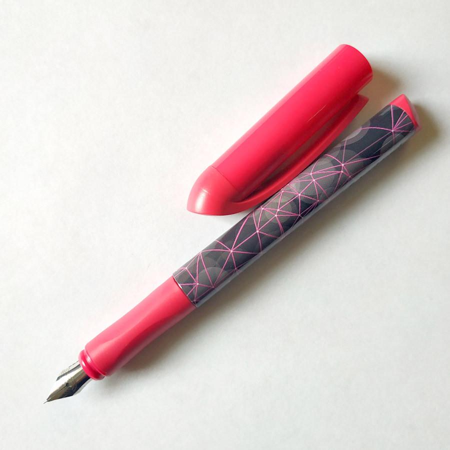 Ручка перьевая Schneider Koleo розовая