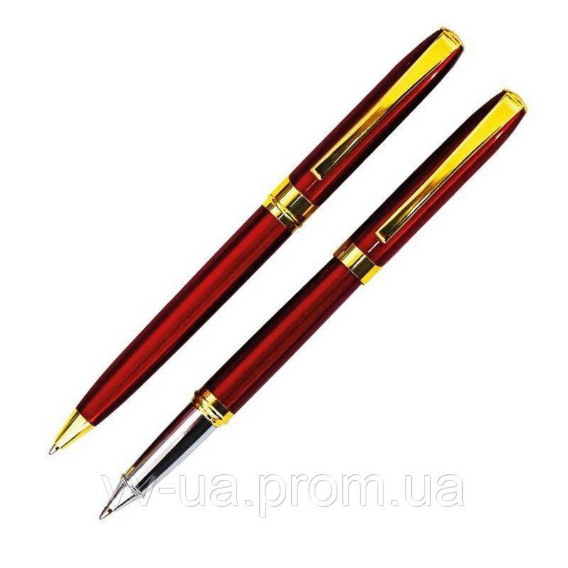 Набор ручка шариковая и роллер Cabinet Mayer, корпус красный (O15928-03)