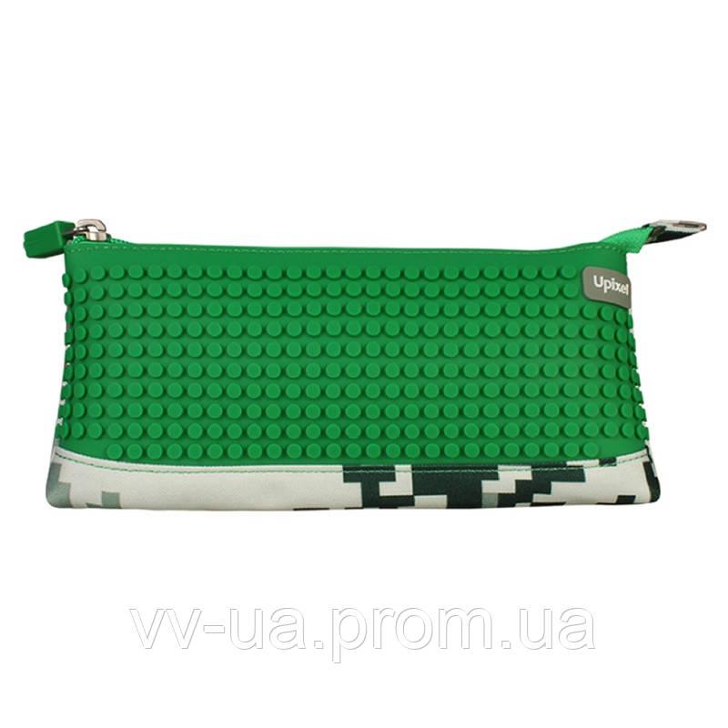 Пенал Upixel Camouflage, зеленый (6955185809471) (WY-B002D-A)