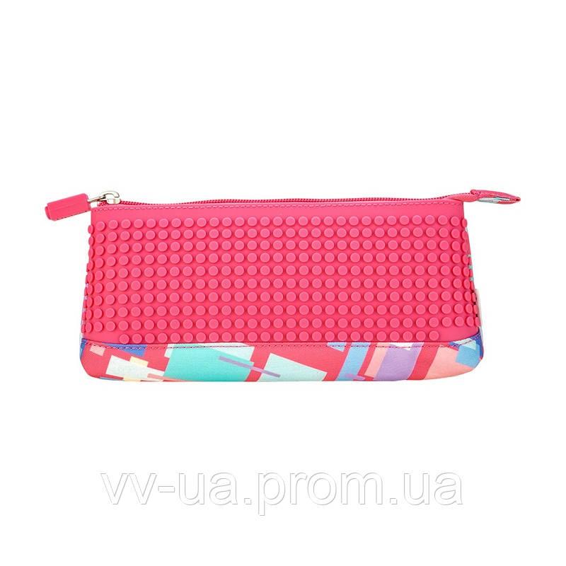 Пенал Upixel Funny Square, розовый (6955185809822) (WY-B002A-A)