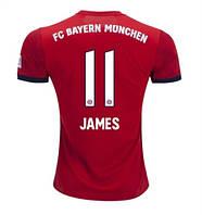 Футбольная форма ФК Бавария Мюнхен Хамес (FC Bayern Munchen James) 2018-2019 Домашняя, фото 1