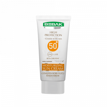 Солнцезащитный крем SPF 50+ BEBAK, 75 мл